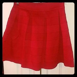 dress min red skirt